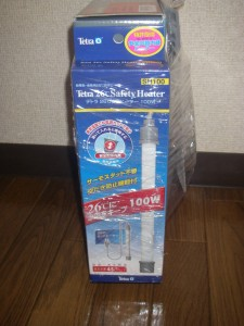テトラ 26℃安全ヒーター 100W SH100