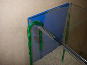 エーハイムクラシックフィルター2011 排水側ホースをキスゴムで設置