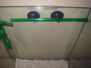 エーハイムクラシックフィルター2011 シャワーバルブ設置