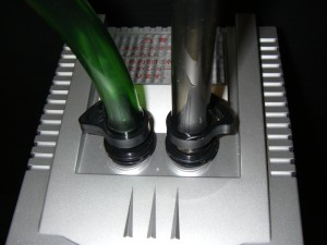 テトラのホースクリップ接続部分