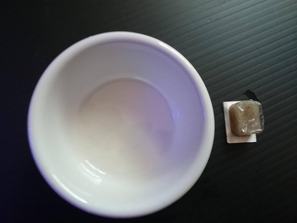 冷凍ホワイトシュリンプを解凍
