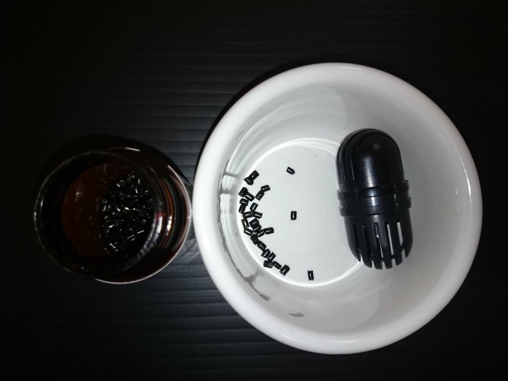 ヨウ素殺菌ドームの利用準備
