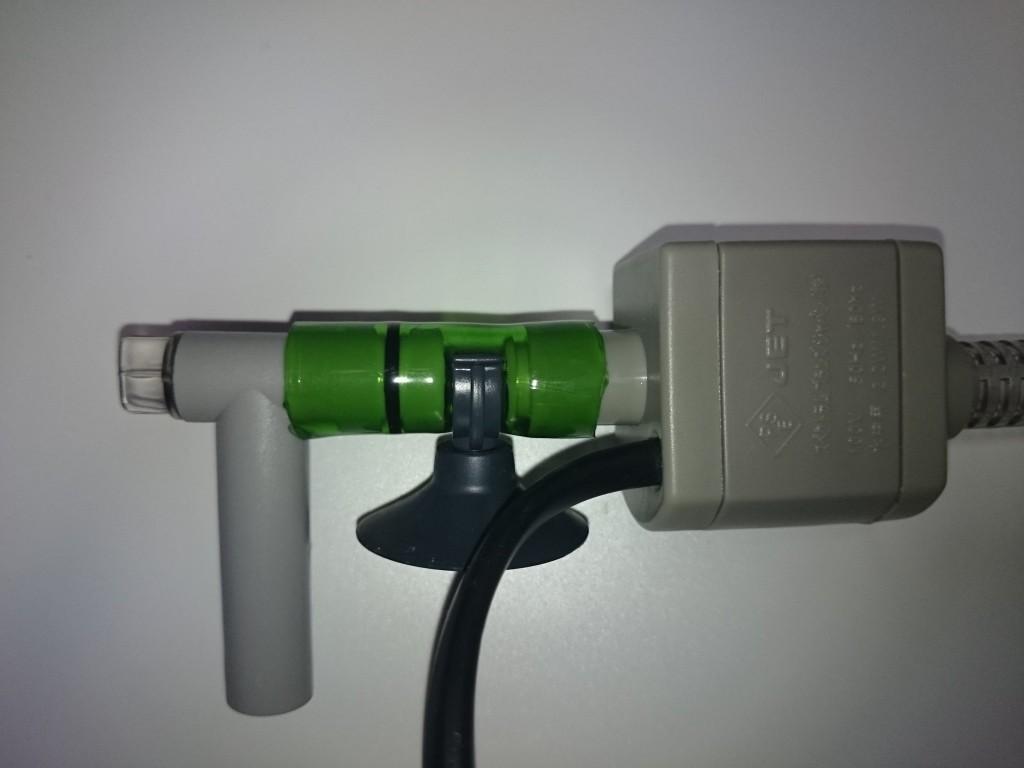 テトラ AT-20の水中ポンプをクーラー接続用に加工