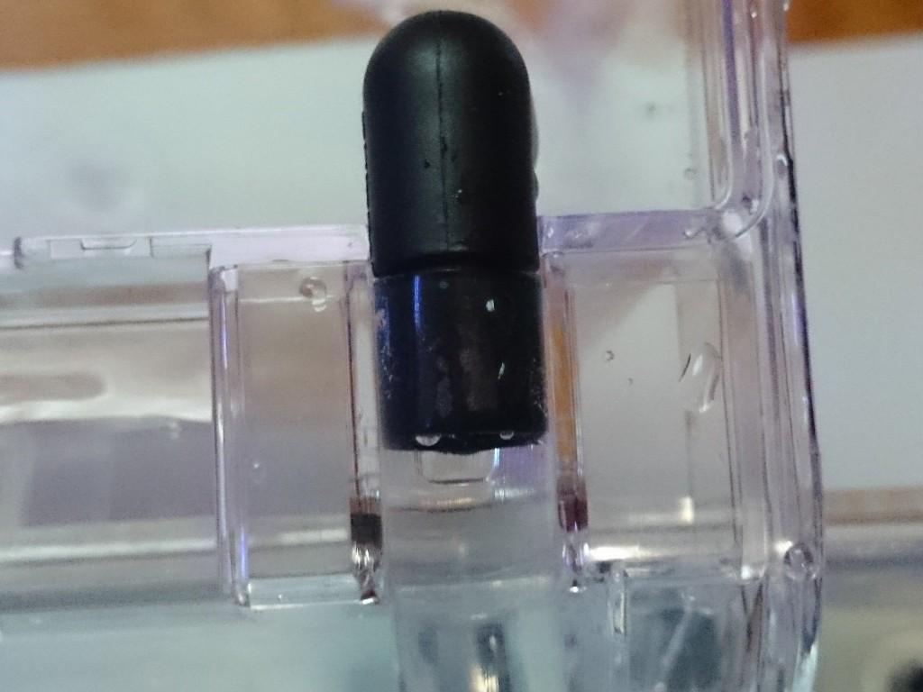 水中ポンプのホースとサテライトの接続部分