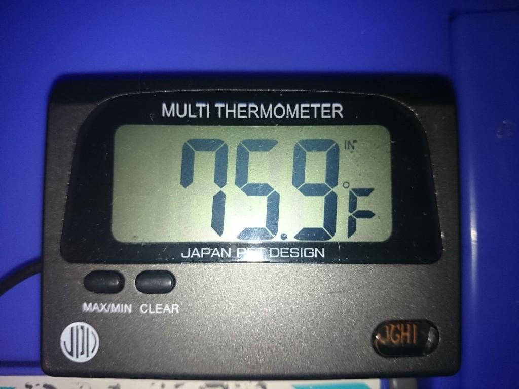 デジタル水温計 華氏測定