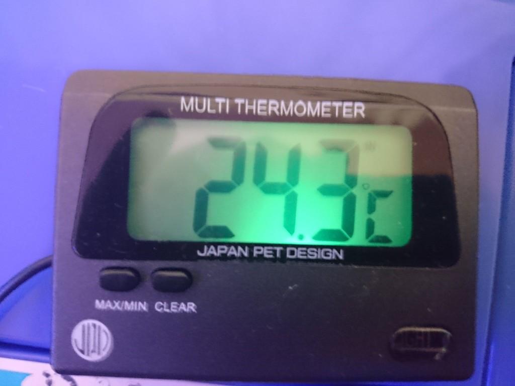 マルチデジタル水温計(ニチドウ) バックライト