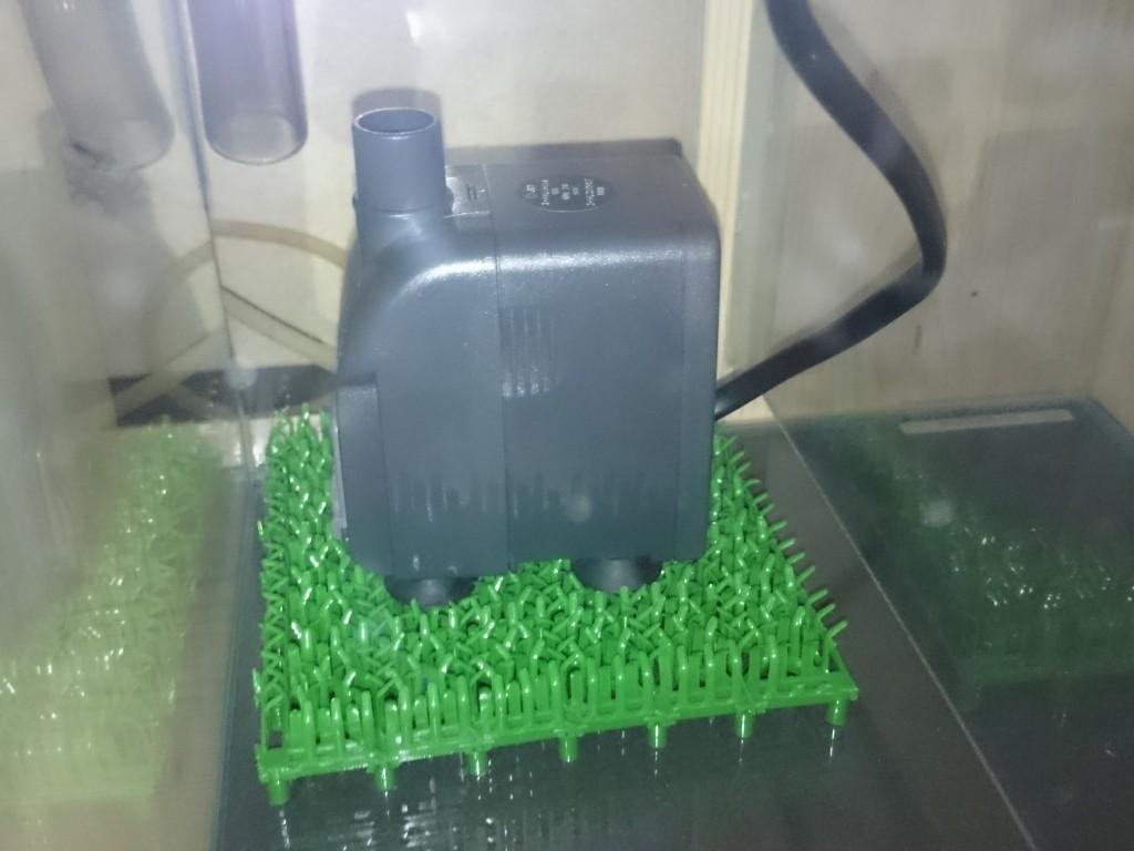 オーバーフロー 揚水ポンプの消音対策