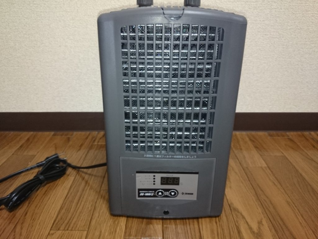 ゼンスイ ZC-100α チャームオリジナルモデル 外観 正面