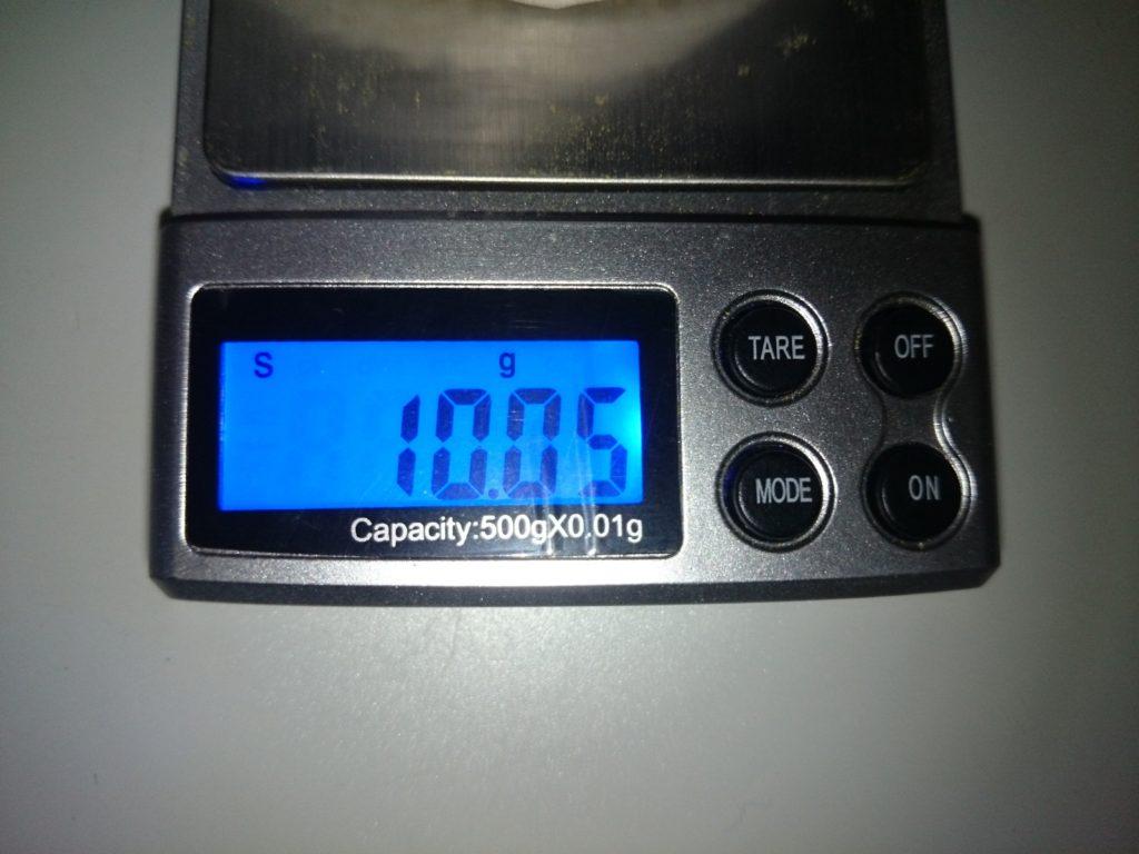 フォスフェイトリムーバーの量を測る