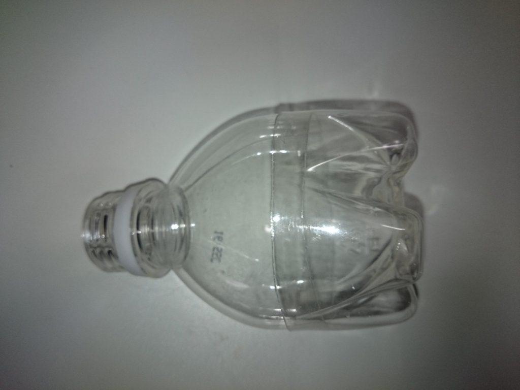 ペットボトルスキマー自作 汚水受けカップの作成2