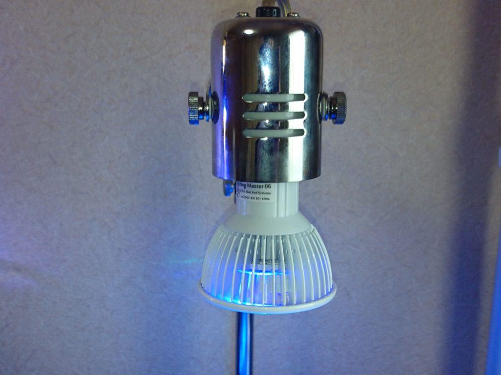 Lighting Master06をレディオアームに装着