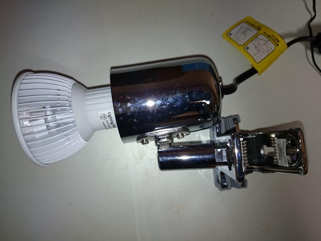 レディオクリップS クロームの照射角調整機能2