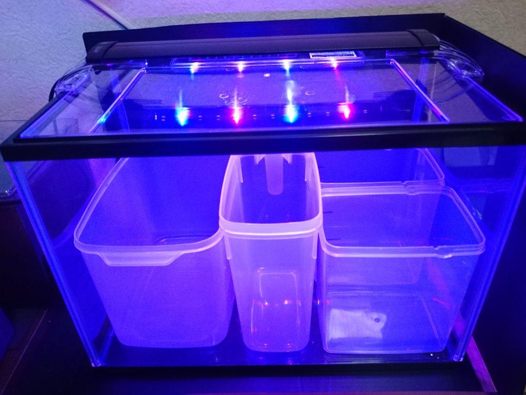 コトブキ工芸 kotobuki LEDスリム 3040 ブラック ブルー照明モード