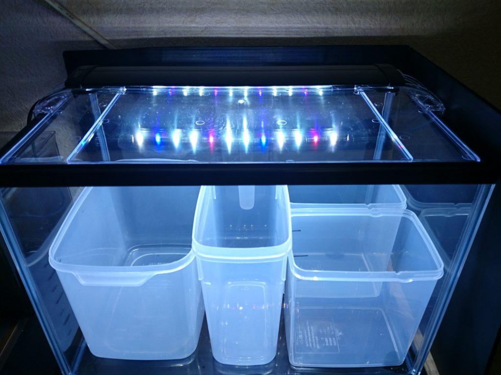 コトブキ工芸 kotobuki LEDスリム 3040 ブラック ホワイト ブルー 同時点灯モード